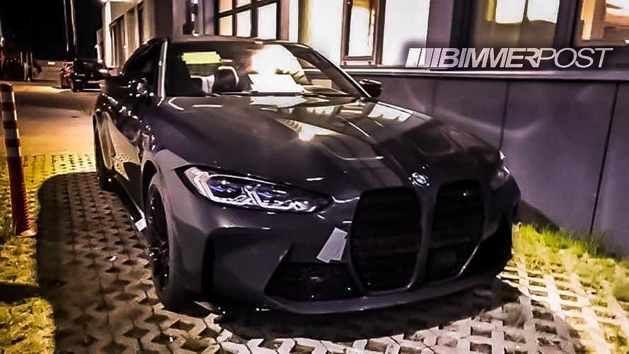 2020 BMW M4 Coupe'nin tartışmaya sebep olacak yeni yüzü görüntülendi