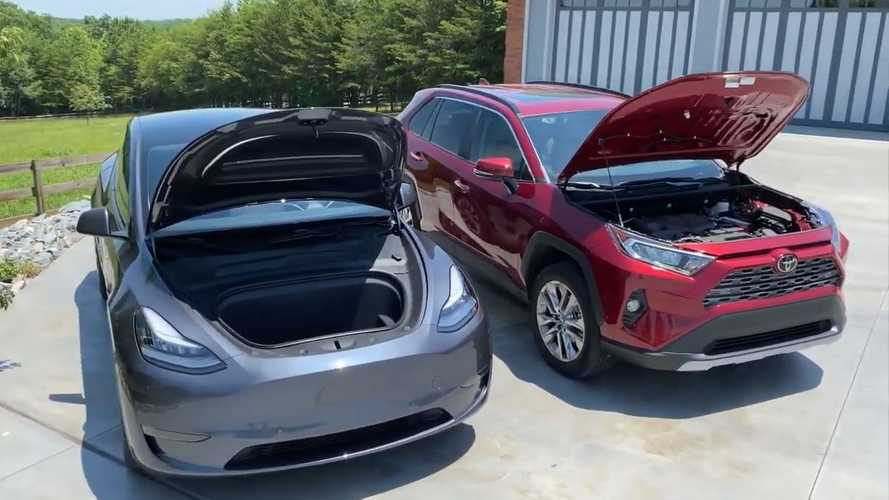 Tesla Model Y And Toyota RAV4: How Similar (Or Different) Are They?