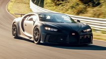 bugatti chiron pur sport on race track