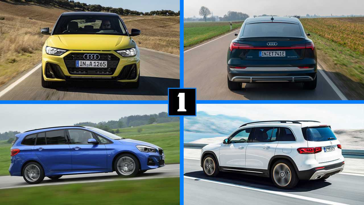 Audi, BMW y Mercedes-Benz: coches sin rivales