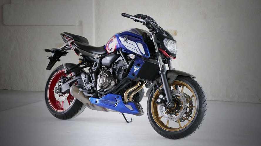 Ad Koncept Iron-Man & Captain America: Yamaha MT-07s