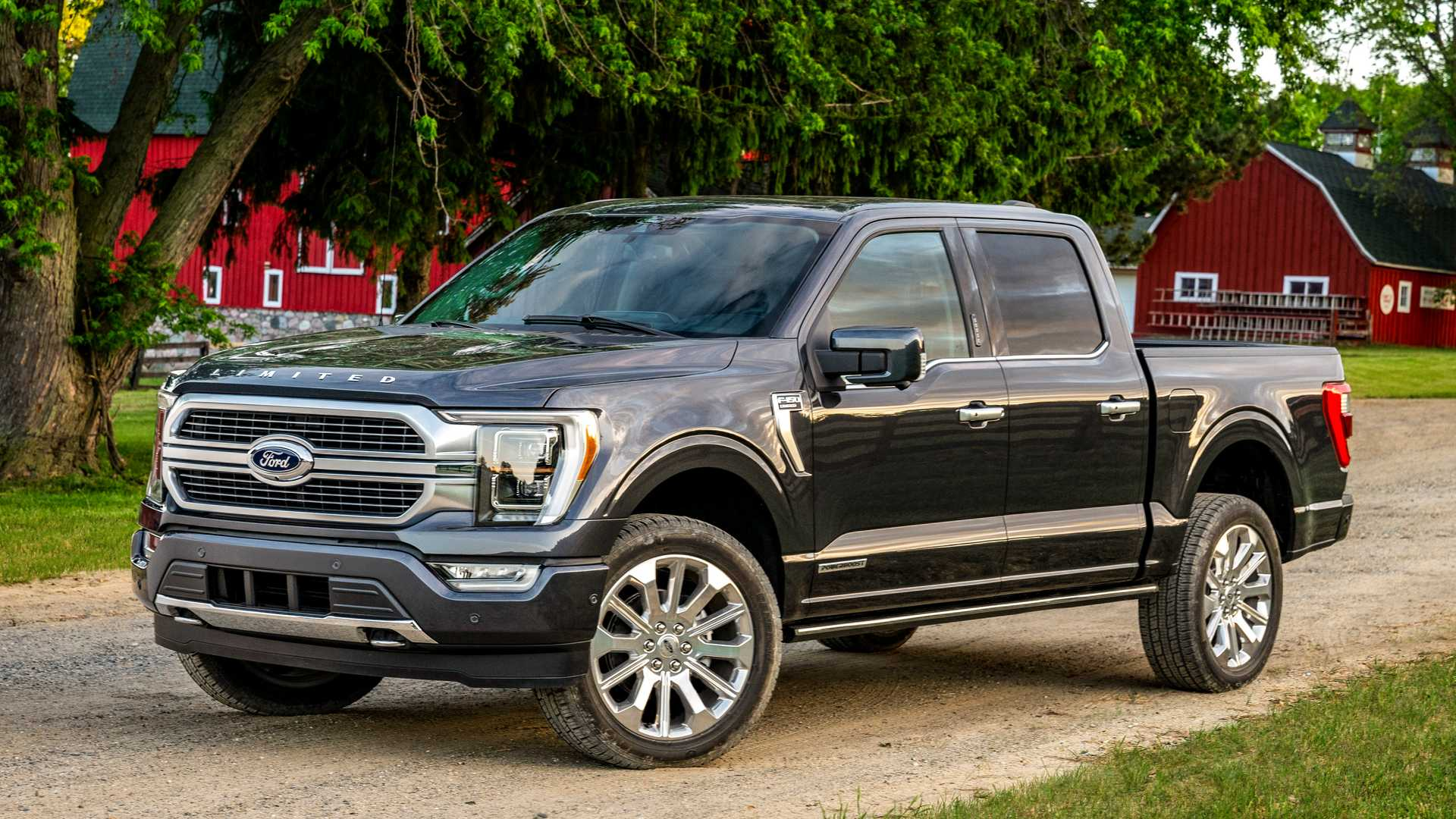 2021 ford f150 redesign revealed with hybrid version