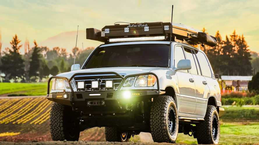 The Best Of Both Worlds With This Overland-Ready Lexus LX470