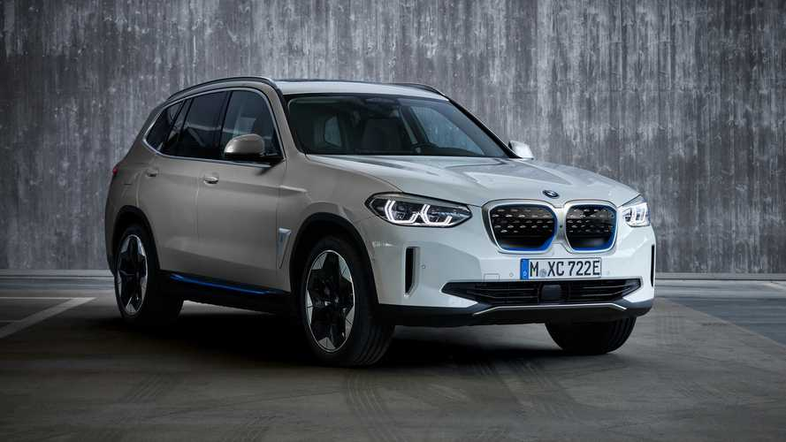2021 BMW iX3 Revealed As Rear-Wheel-Drive Electric SUV With 282 HP