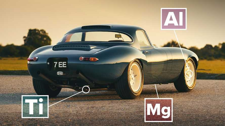 Discover how the lightweight GT Jaguar E-Type is built