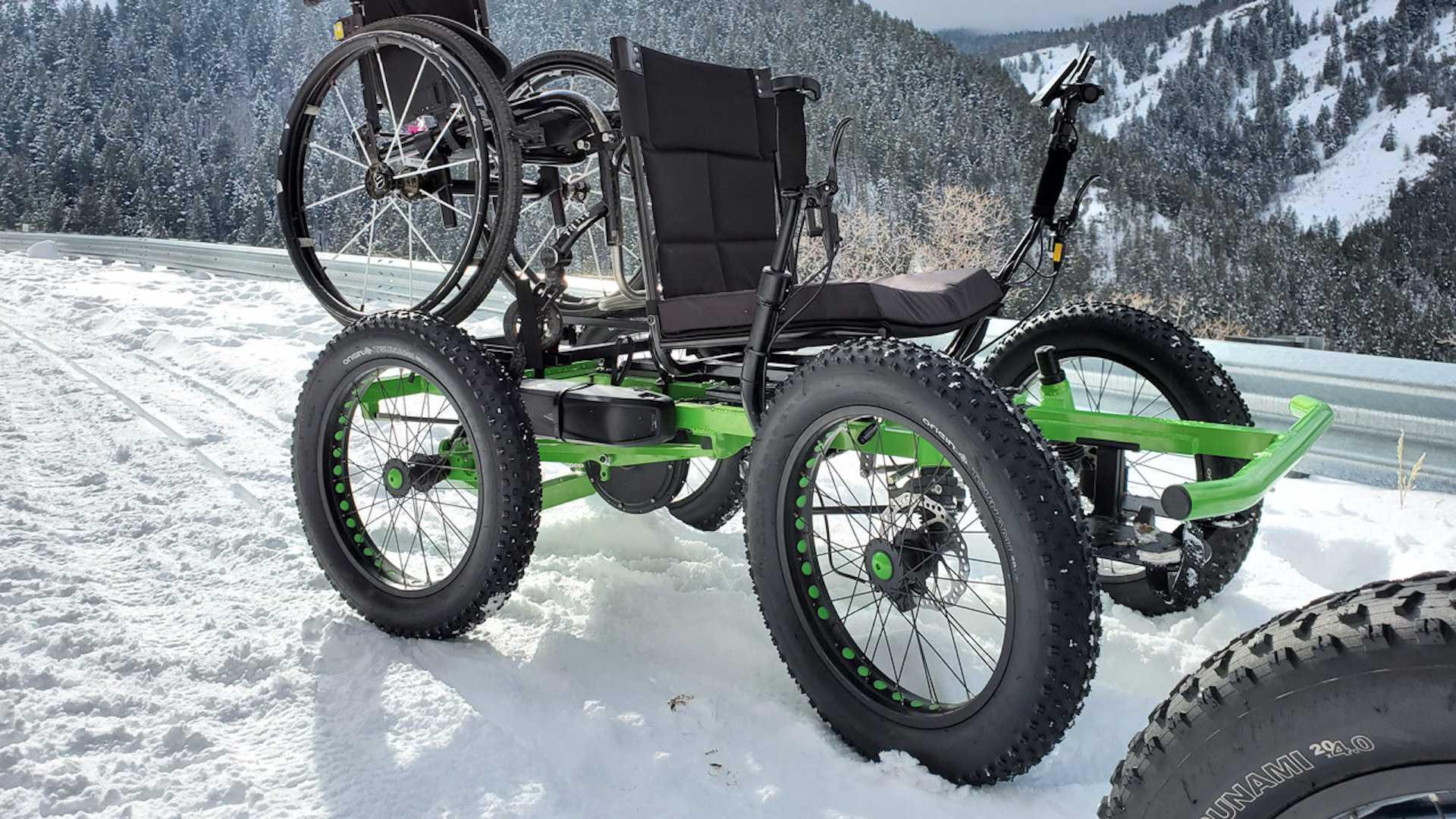 Engelliler İçin Özel Olarak Geliştirilmiş Bir Arazi Taşıtı