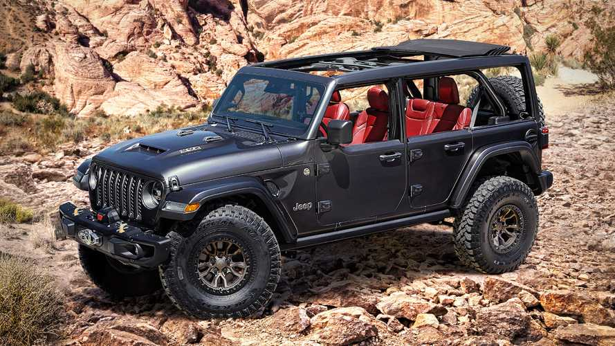 Jeep Wrangler Rubicon 392 Concept revealed with V8-power