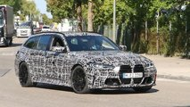 BMW M3 Touring spy shots