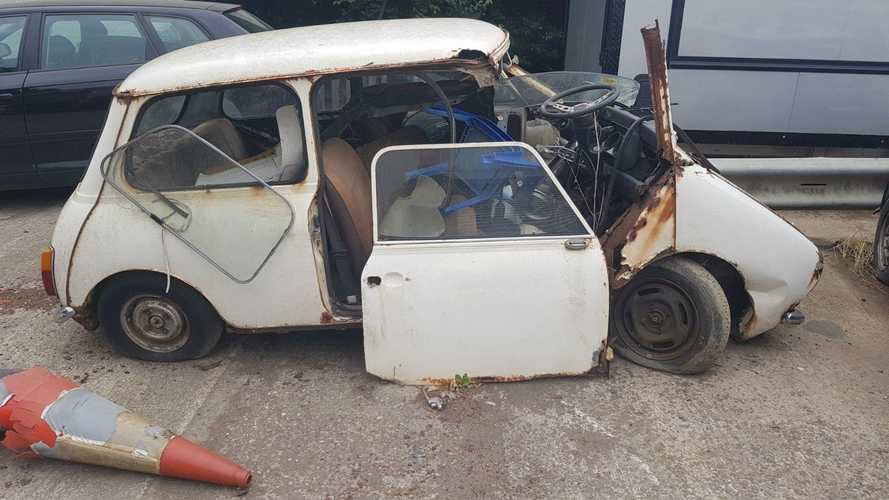 Would you buy this classic Mini for a penny?