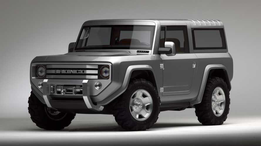 'Really Wild' Ford Bronco Designs Were Considered For The SUV Reboot