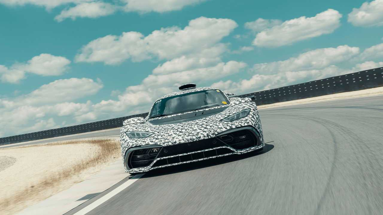 Прототип Mercedes-AMG Project One, вид спереди