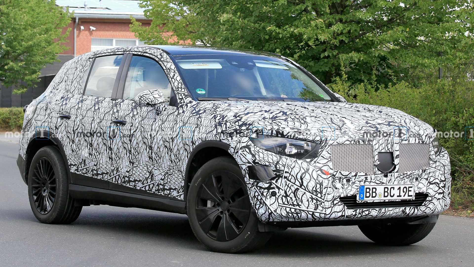 5 Mercedes GLC Spied Still Covered In Camouflage