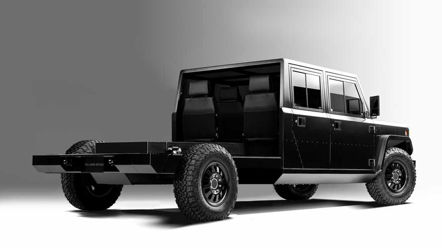Bollinger Unveils Chassis Cab Versions Of Its Electric Truck
