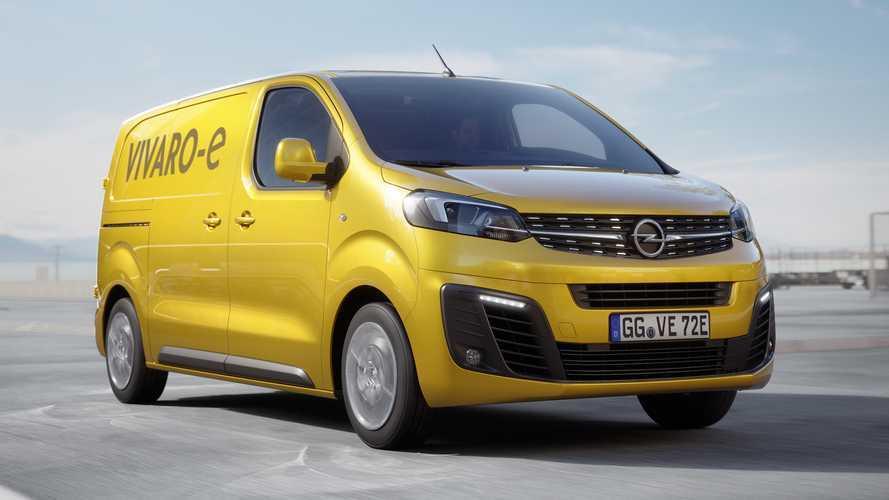 330 km-es hatótávval indul útjára ősszel az Opel Vivaro-e