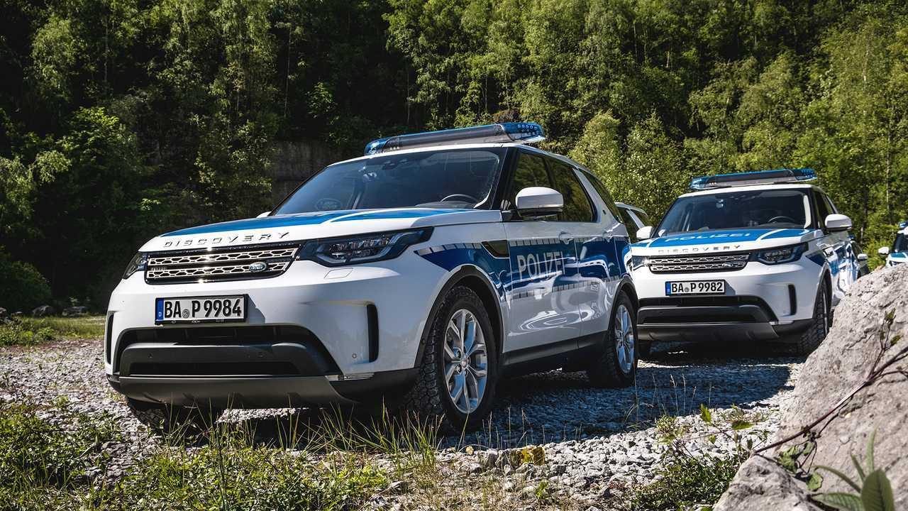 Polizeiautos in Deutschland: Land Rover Discovery