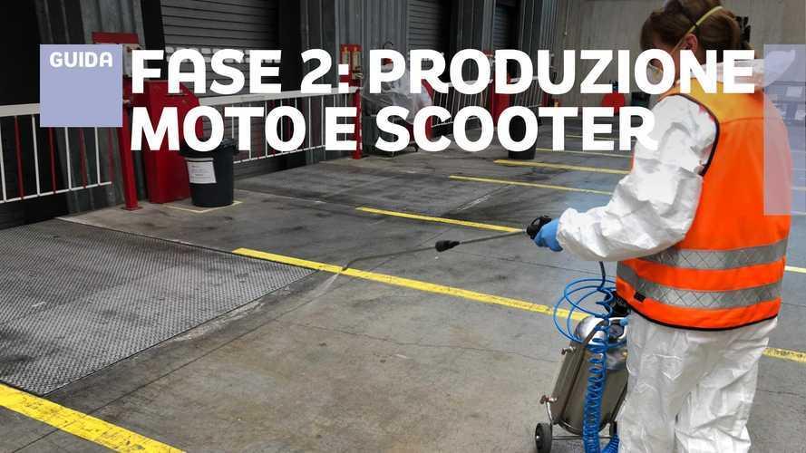 La Fase 2 dell'industria Moto: chi torna in fabbrica e chi aspetta