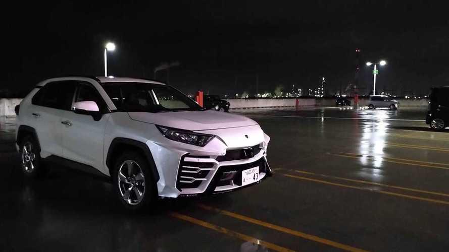 «Лжеурус»: показан очень странный вариант новой Toyota RAV4