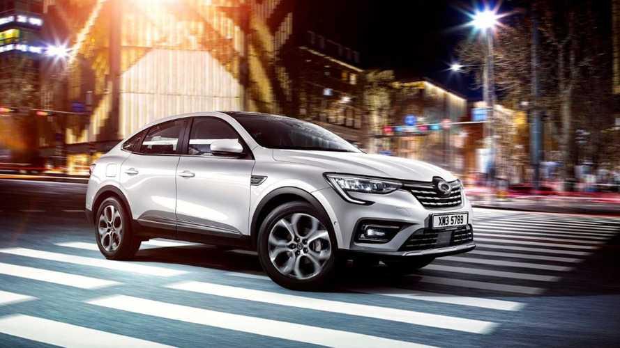 Le Renault Captur Coupé badgé Samsung cartonne en Corée