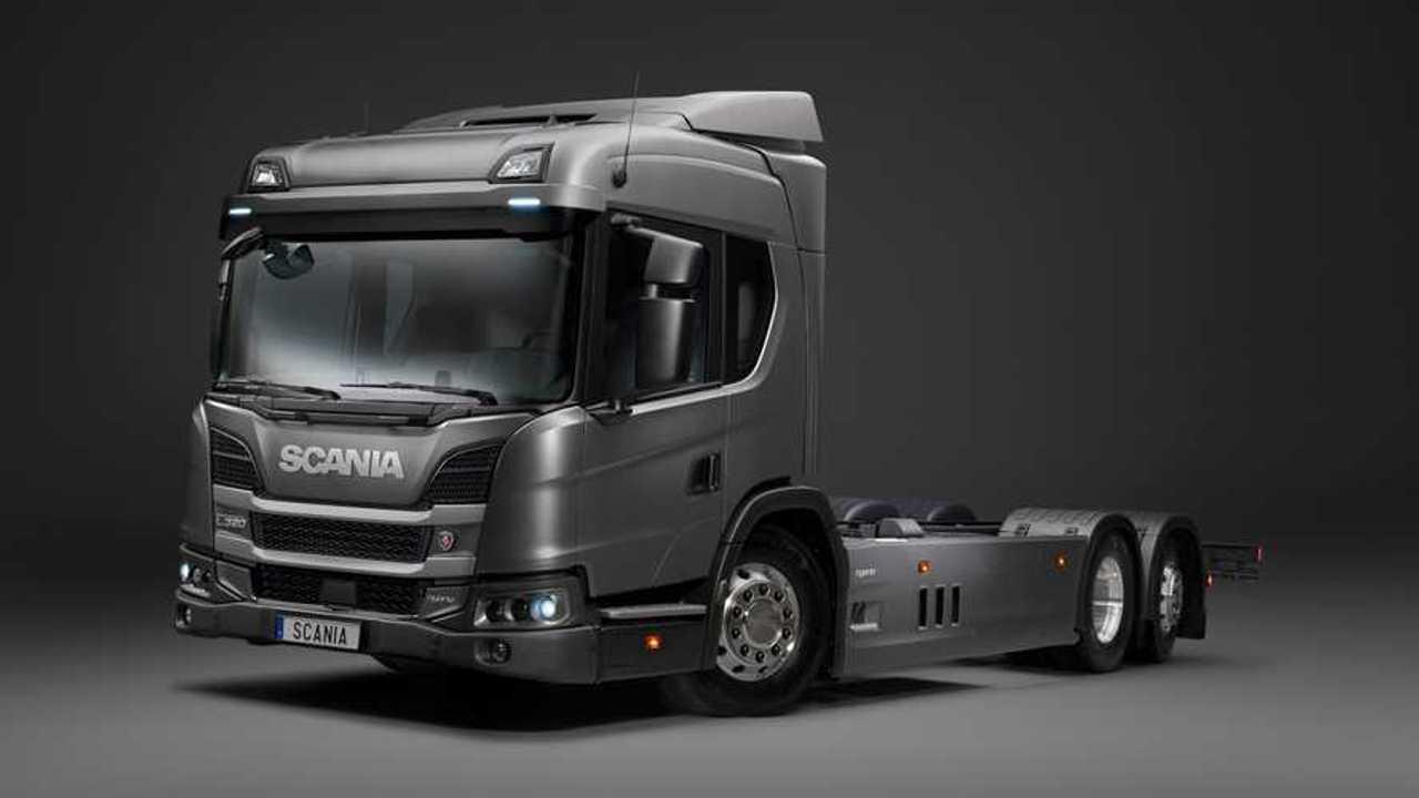 Scania L 320 6x2 PHEV Truck
