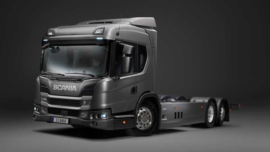 Scania PHEV Trucks Comes With Webasto Charging Stations