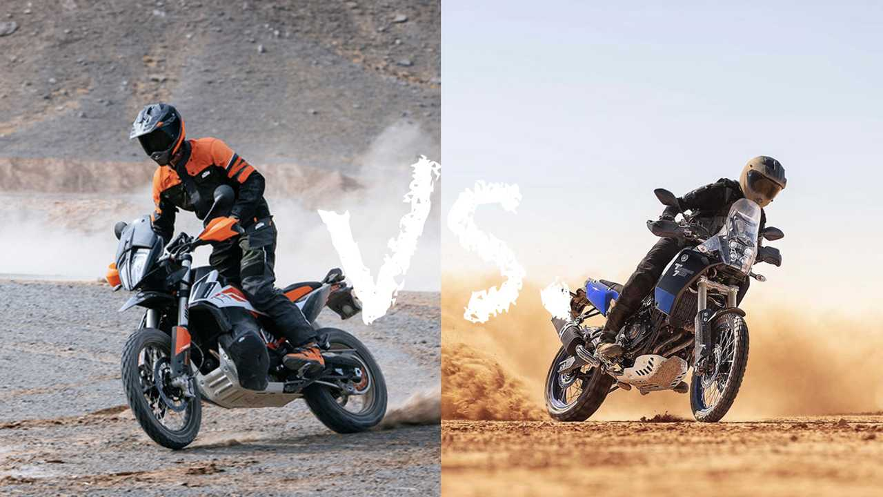 KTM 790 Adv vs Yamaha Ténéré 700