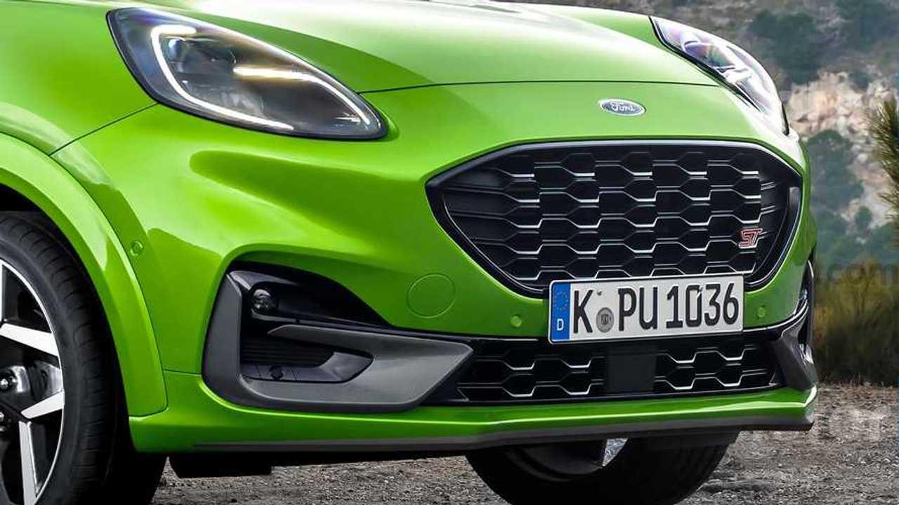 Render Ford Puma ST 2020