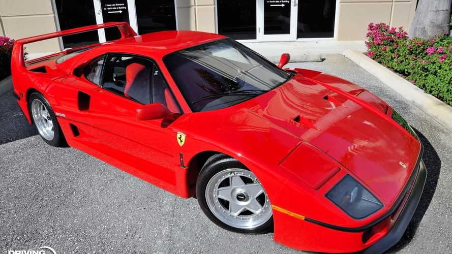 Hamarosan új. a Ferrari F40-re hajazó Ferrari-modellt mutathatnak be