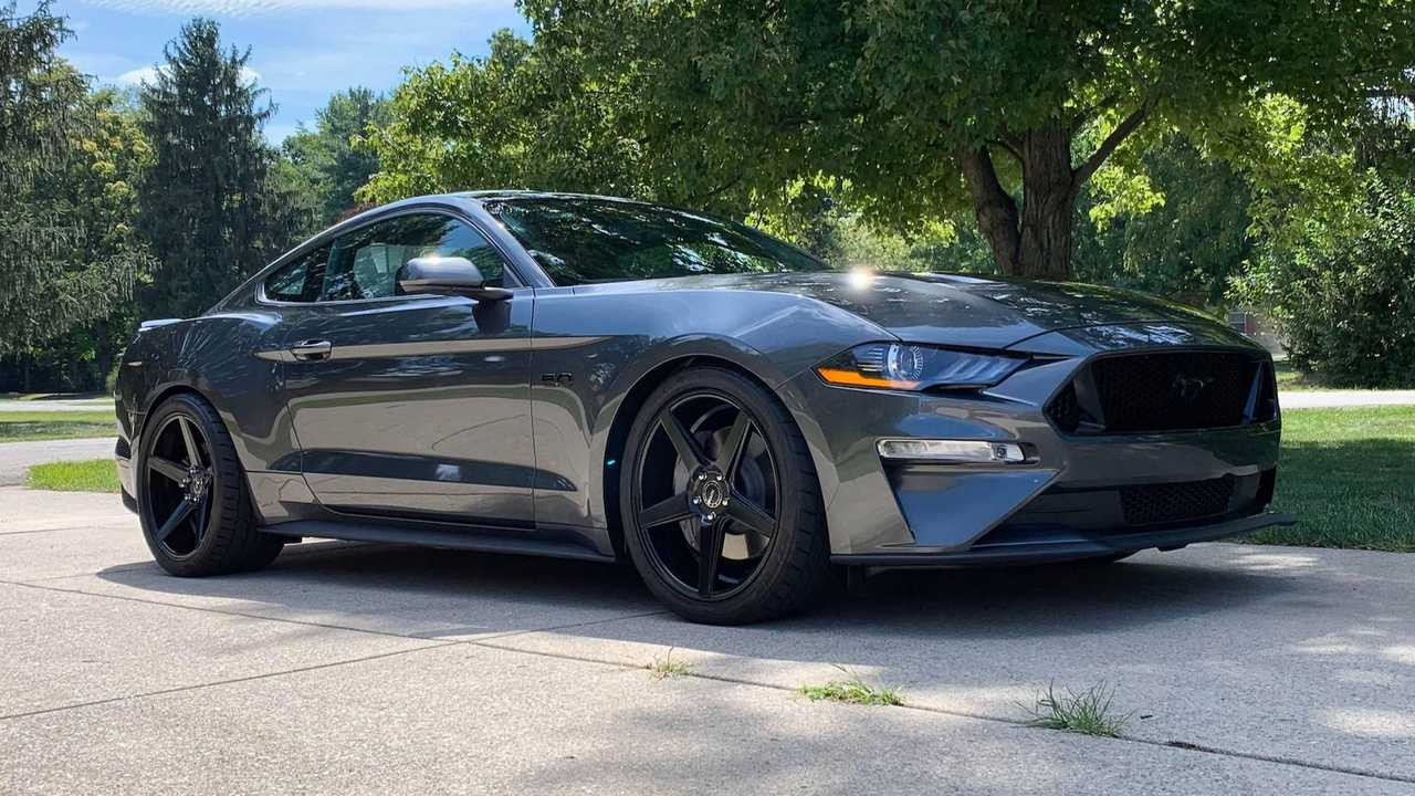Aaron Robinson Ford Mustang