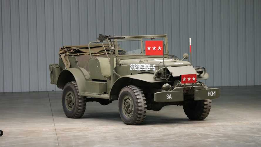 General Patton's Dodge WC-57 WWII Command Car Up For Auction