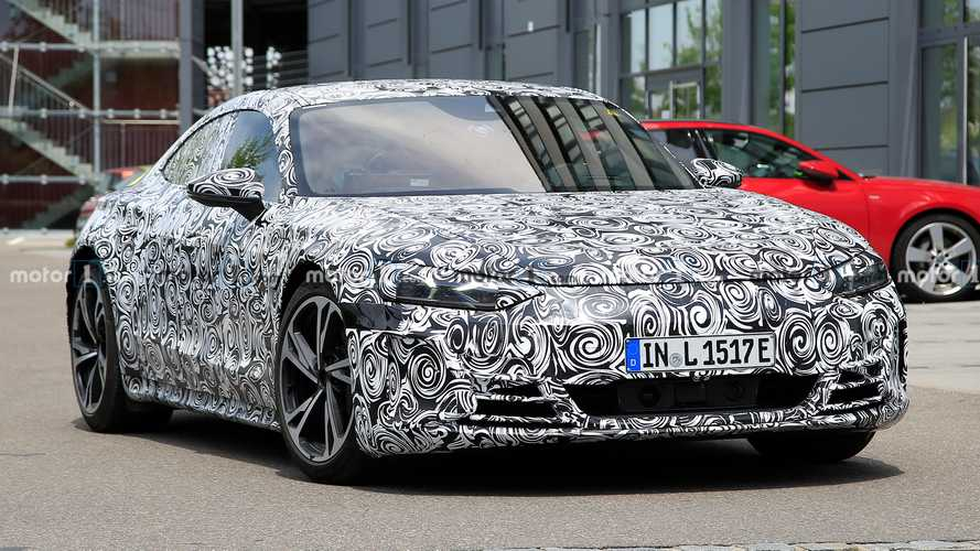 Részletesebb kémfotók kerültek elő az Audi E-Tron GT-ről