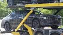 BMW i7 erstmals mit Serienkarosserie erwischt