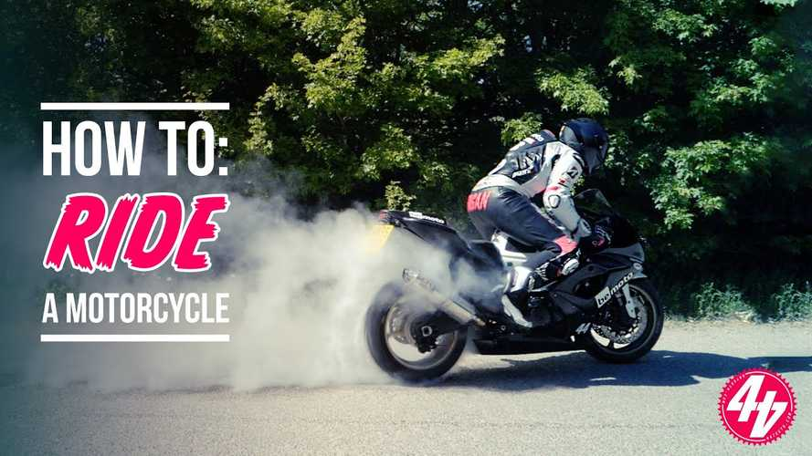 Learn to ride the British way with this informative video