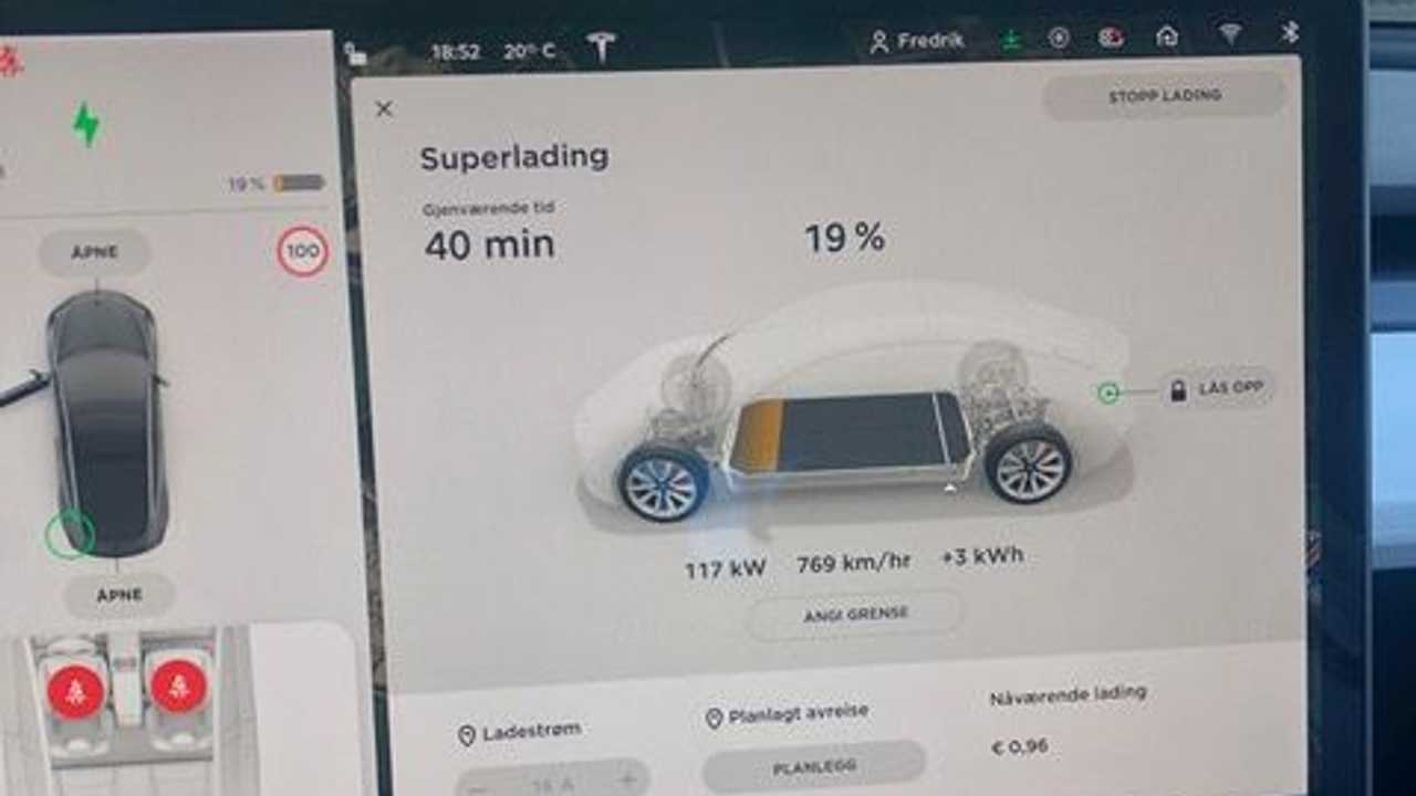 Readers Confirm: Tesla Limits Supercharging in Europe To Less Than 120 kW