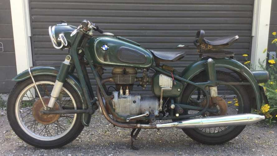 BMW R26 German Police Bike Goes To Auction