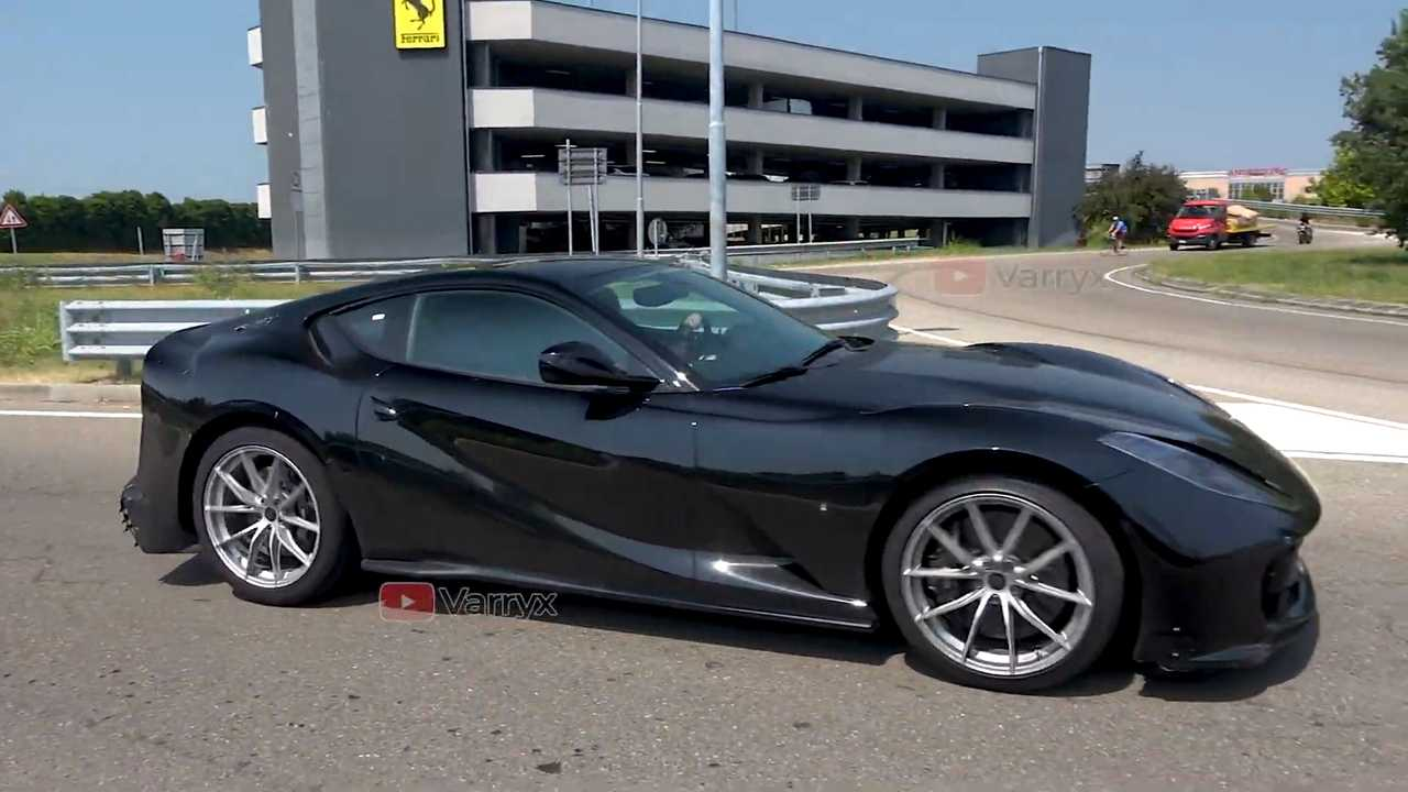 Ferrari 812 Superfast Test Car
