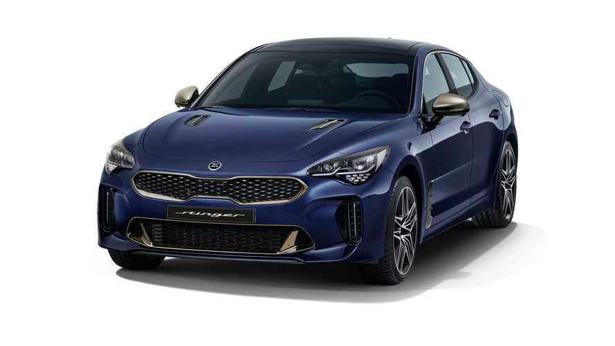 Kia Stinger 2021, facelift