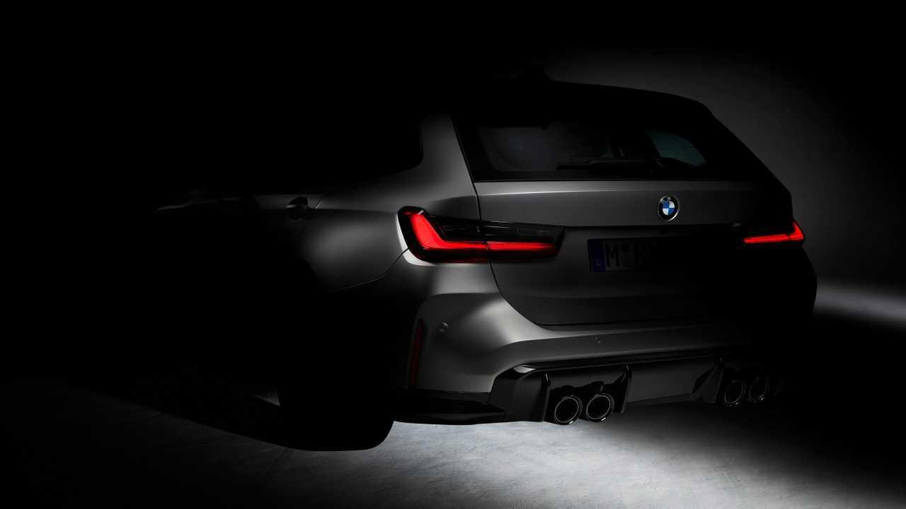 BMW M3 Touring (2021): Erstes Teaser-Bild