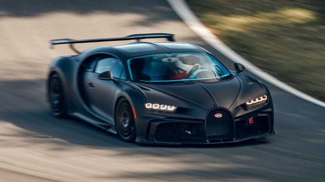 Bugatti Chiron Pur Sport pista