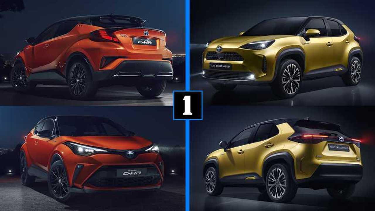 Toyota Yaris Cross y C-HR 2020
