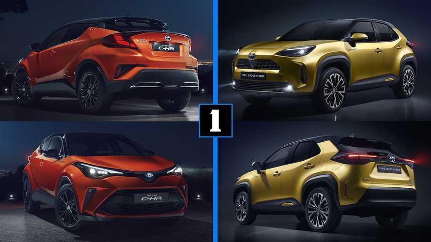 Nuevo Toyota Yaris Cross, ¿es mejor que el Toyota C-HR 2020?
