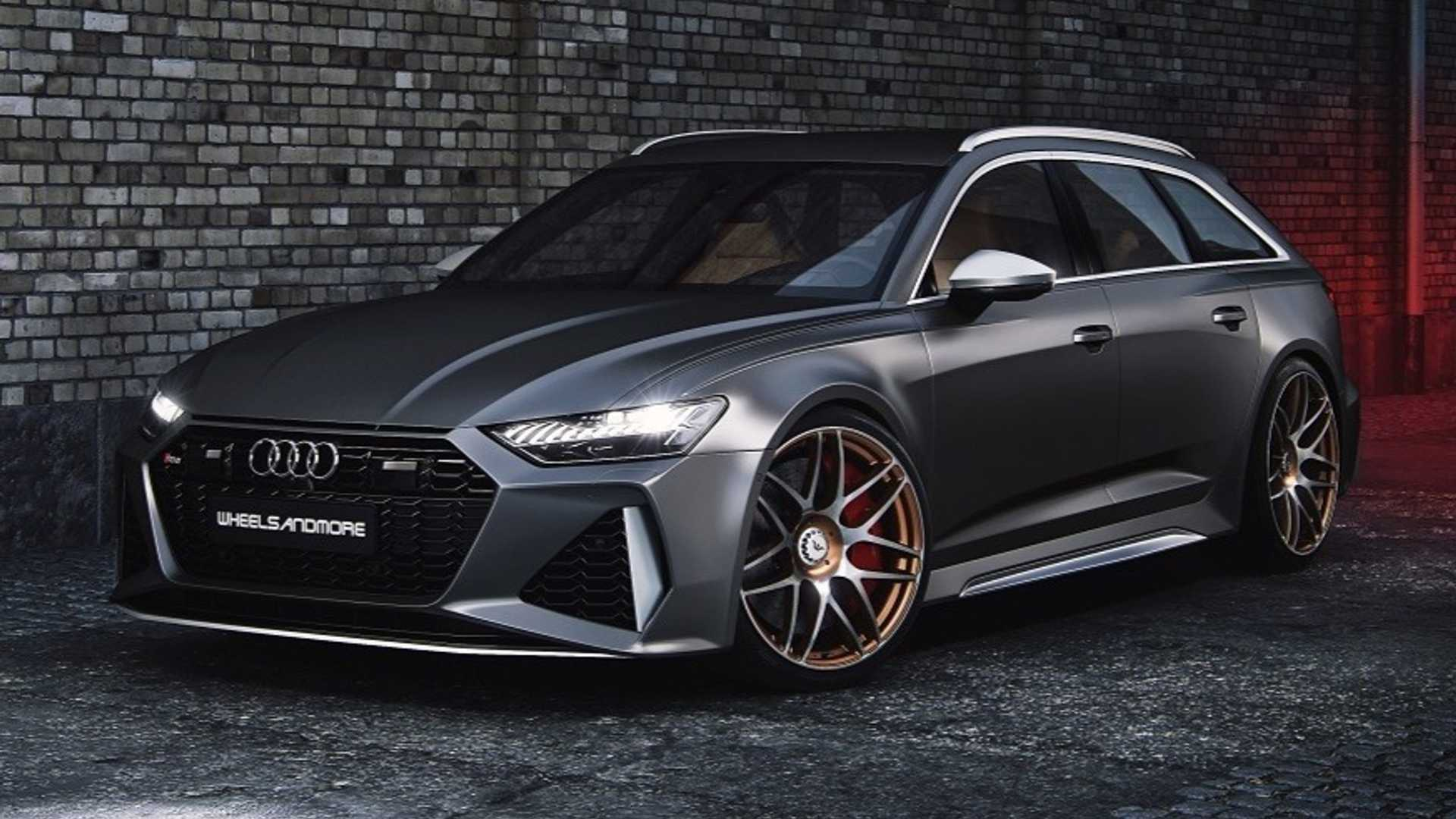 2020 Audi RS6 Avant Dialed To 1,010 HP Is Wagon Overkill