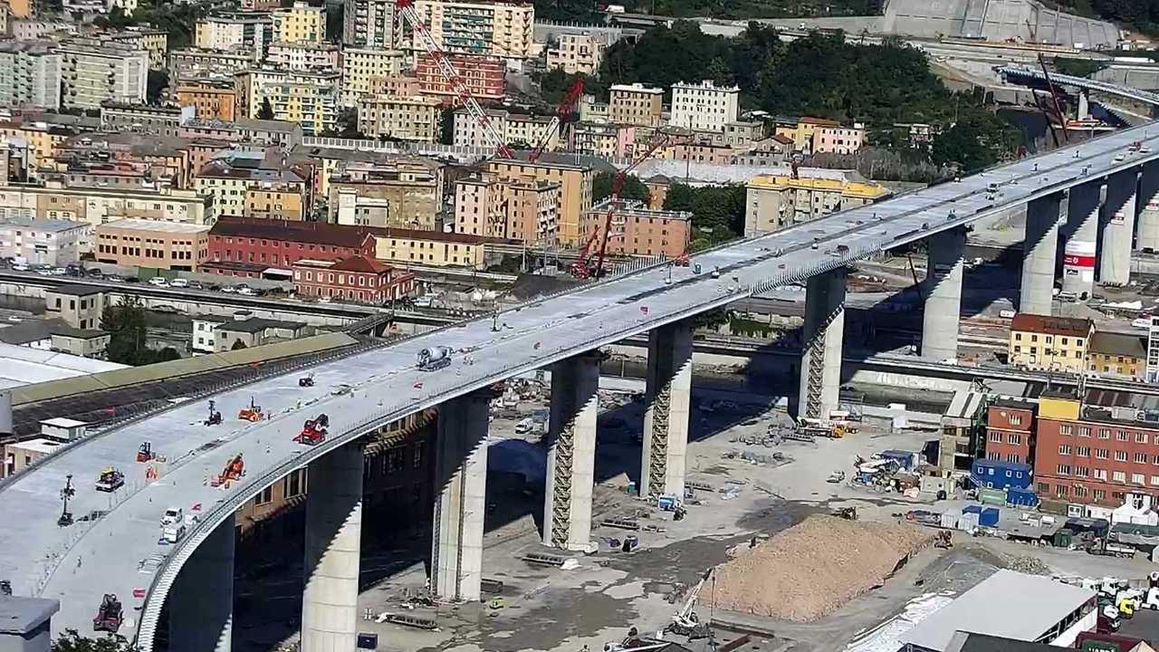 Ponte Genova lavori