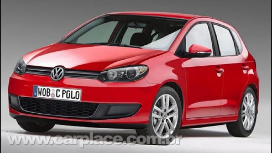 Confirmado: Novo Volkswagen Polo 2010 será apresentado no Salão de Genebra