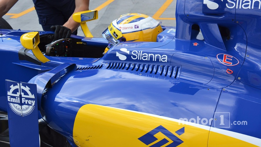 Marcus Ericsson, Sauber C35 cockpit louvres detail