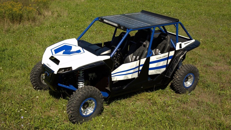 Nikola Zero electric UTV has 520 hp and hits 60 mph in three seconds
