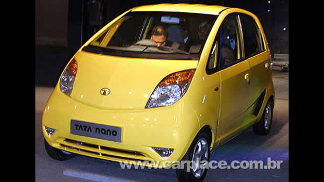 Tata Nano - Carro mais barato do mundo também será vendido na Europa