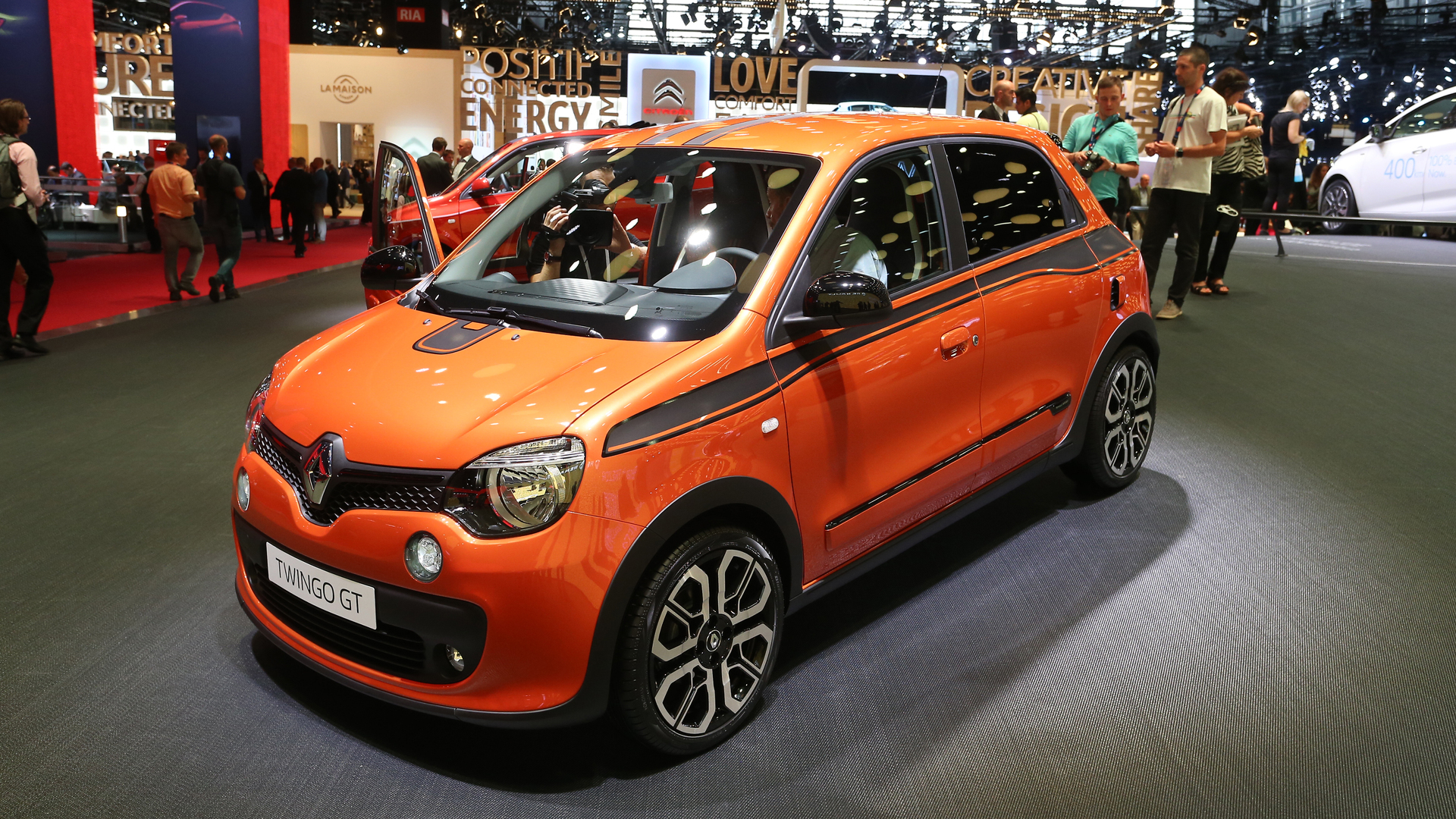 Renault Twingo GT in Paris proves good things come in small