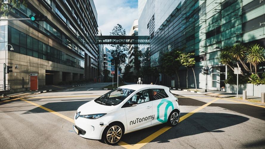 Le premier taxi autonome a été présenté publiquement