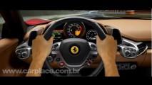 Ferrari 458 Italia - Confira o ronco do motor V8 de 570cv em vídeo oficial