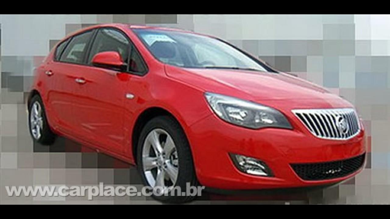 Novo Astra Sedan é flagrado na China - Será que também chega ao Brasil?
